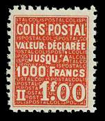 Frankrig - Pakkeporto YT 168 - Postfrisk