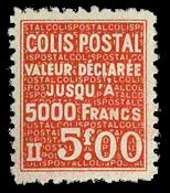 Frankrig - Pakkeporto YT 169 - Ubrugt