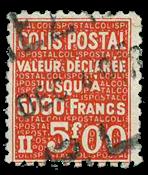 Frankrig - Pakkeporto YT 169 - Stemplet