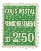 France - Colis postaux YT 170 - Neuf sans charnières