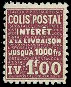 France - Colis postaux YT 172 - Neuf sans charnières