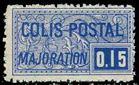 France - Colis postaux YT 157 - Neuf avec charnières