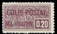 France - Colis postaux YT 158 - Neuf sans charnières