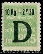 France - Colis postaux YT 160 - Neuf avec charnières