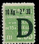France - Colis postaux YT 161 - Neuf avec charnières