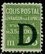 France - Colis postaux YT 137 - Neuf avec charnières