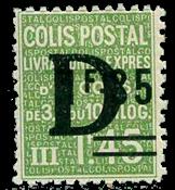 France - Colis postaux YT 138 - Neuf avec charnières
