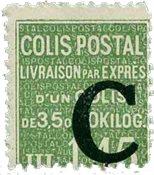 Frankrig - Pakkeporto YT 113 - Postfrisk
