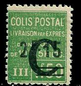 France - Colis postaux YT 114 - Neuf sans charnières