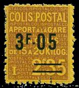 France - Colis postaux YT 121 - Neuf sans charnières