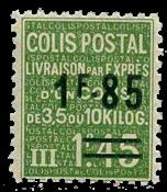 France - Colis postaux YT 123 - Neuf avec charnières