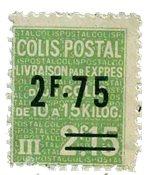 France - Colis postaux YT 124 - Neuf avec charnières