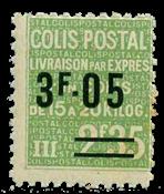 France - Colis postaux YT 125 - Neuf sans charnières