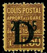 France - Colis postaux YT 129 - Neuf avec charnières