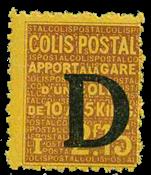 France - Colis postaux YT 130 - Neuf sans charnières