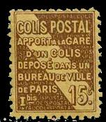 Frankrig - Pakkeporto YT 95 - Postfrisk