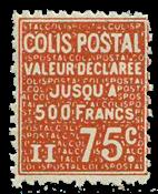 Frankrig - Pakkeporto YT 98 - Postfrisk
