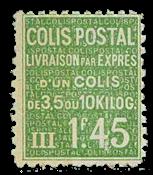 Frankrig - Pakkeporto YT 99 - Ubrugt