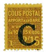 France - Colis postaux YT 110 - Neuf sans charnières