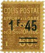 France - Colis postaux YT 88 - Neuf avec charnières