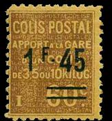 Frankrig - Pakkeporto YT 88 - Ubrugt