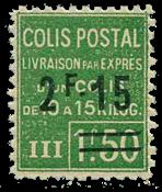 France - Colis postaux YT 93 - Neuf sans charnières