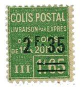 France - Colis postaux YT 94 - Neuf avec charnières