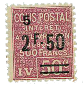 Frankrig - Pakkeporto YT 76 - Postfrisk