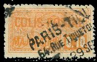 Frankrig - Pakkeporto YT 77 - Stemplet