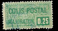 France - Colis postaux YT 78 - Oblitéré