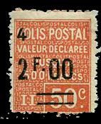 France - Colis postaux YT 63 - Neuf avec charnières