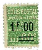 France - Colis postaux YT 65 - Neuf avec charnières