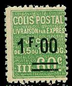 Frankrig - Pakkeporto YT 65 - Ubrugt