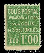 France - Colis postaux YT 66 - Neuf avec charnières