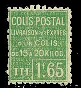 Frankrig - Pakkeporto YT 69 - Ubrugt