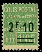 France - Colis postaux YT 71 - Neuf avec charnières