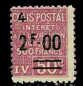 France - Colis postaux YT 75 - Neuf sans charnières