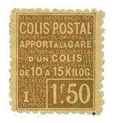 France - Colis postaux YT 50 - Neuf avec charnières