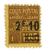 France - Colis postaux YT 53 - Neuf avec charnières