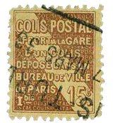 France - Colis postaux YT 54 - Oblitéré