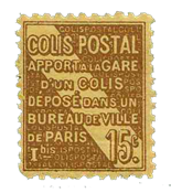 Frankrig - Pakkeporto YT 54 - Postfrisk
