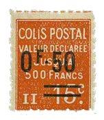 France - Colis postaux YT 55 - Neuf avec charnières