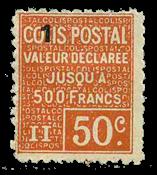 Frankrig - Pakkeporto YT 57 - Ubrugt