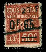 France - Colis postaux YT 60 - Oblitéré