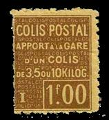 Frankrig - Pakkeporto YT 48 - Ubrugt