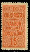 France - Colis postaux YT 30 - Neuf sans charnières