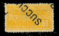 Frankrig - Pakkeporto YT 22 - Stemplet