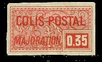 France - Colis postaux YT 25 - Neuf avec charnières