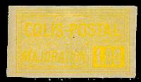 France - Colis postaux YT 27 - Neuf avec charnières