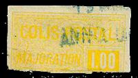 France - Colis postaux YT 27 - Oblitéré
